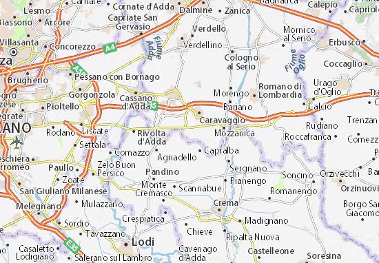 Misano di Gera d'Adda Map
