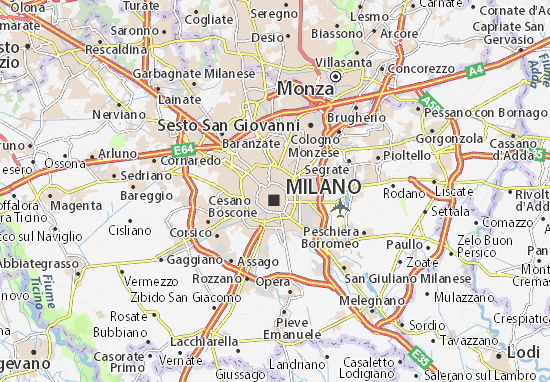 Carte-Plan Milano
