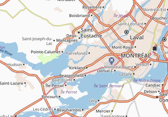Sainte-Geneviève Map