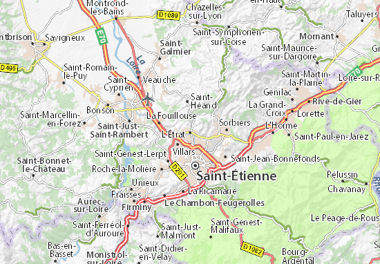 Mappe-Piantine L'Étrat