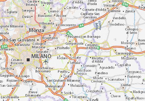 Mappe-Piantine Melzo