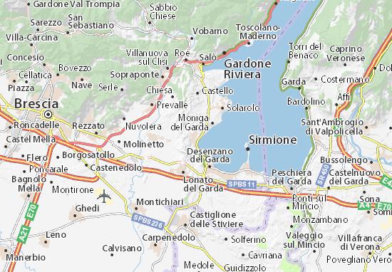 Mappe-Piantine Padenghe sul Garda