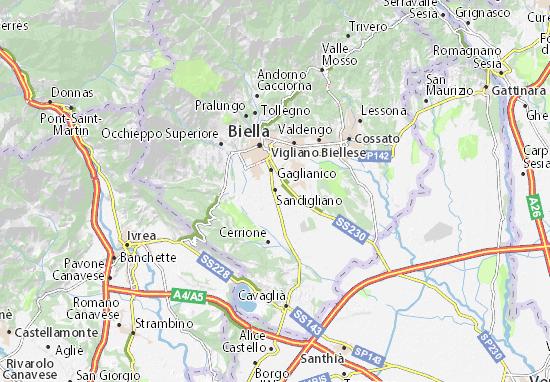 Mappe-Piantine Sandigliano