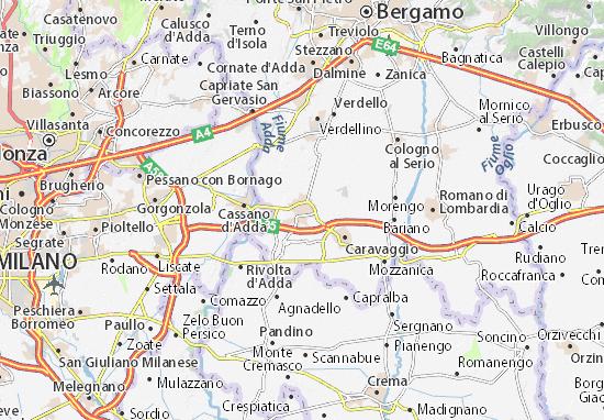Mappe-Piantine Treviglio