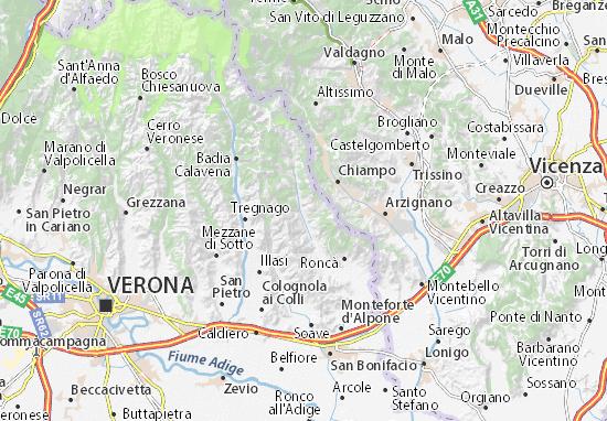 Mappe-Piantine San Giovanni Ilarione