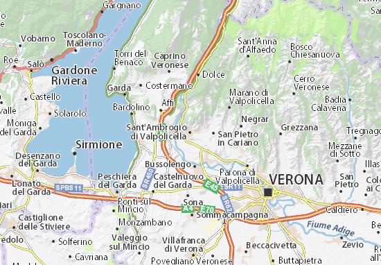 Mappe-Piantine Sant'Ambrogio di Valpolicella