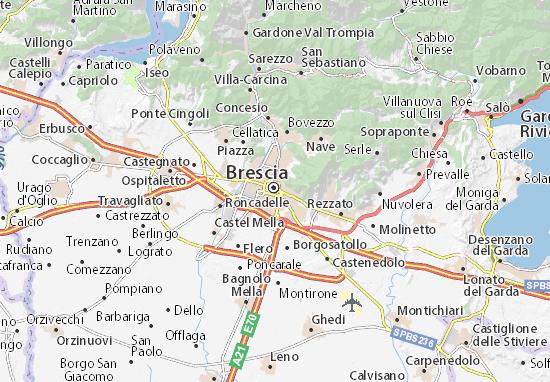Carte-Plan Brescia