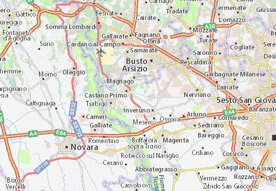 Kaart Plattegrond Buscate