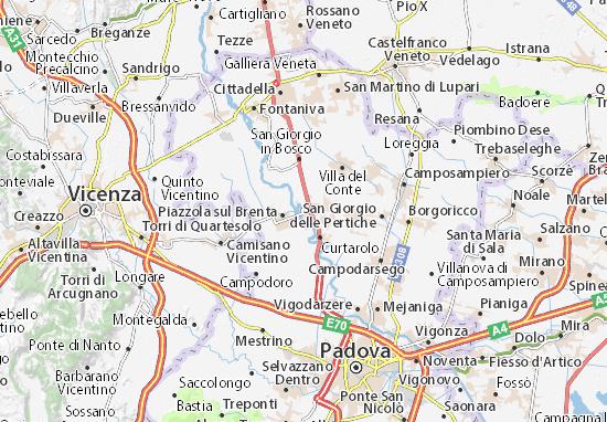 Mapas-Planos Campo San Martino