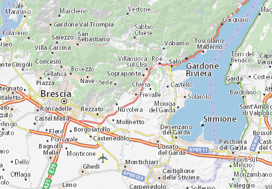 Mappe-Piantine Prevalle