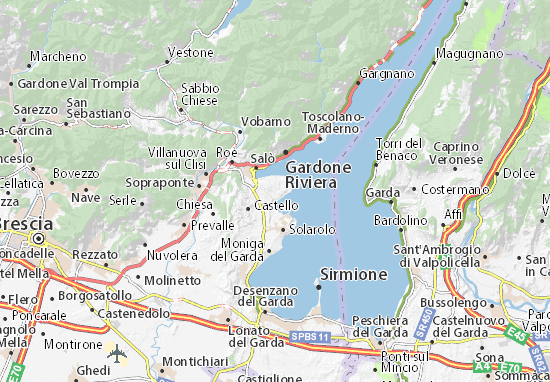 Mappe-Piantine San Felice del Benaco