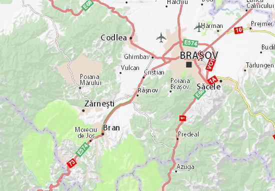 Râşnov Map