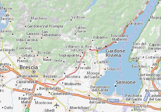 Mappe-Piantine Sopraponte