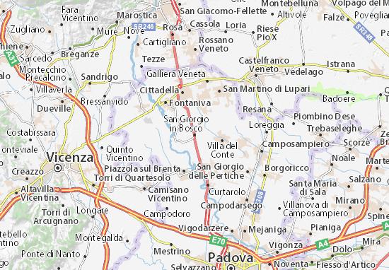 Mapas-Planos San Giorgio in Bosco