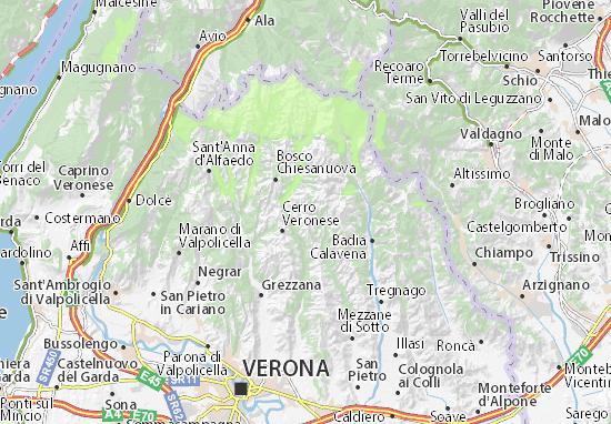 Carte-Plan Roverè Veronese