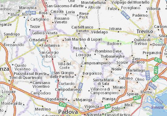 Mappe-Piantine Loreggia