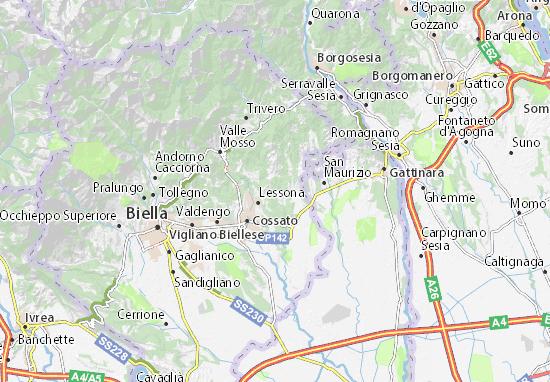 Masserano Map