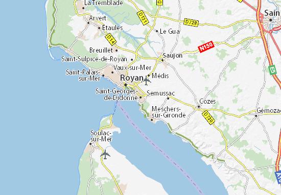 Mappe-Piantine Saint-Georges-de-Didonne