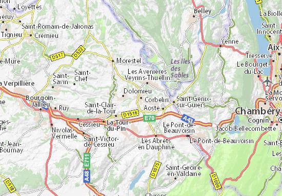 Mapa Plano Corbelin