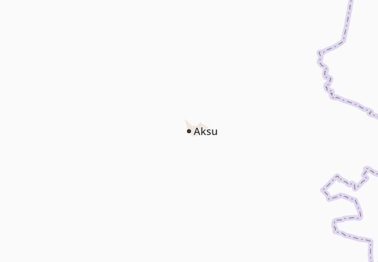 Carte-Plan Aksu