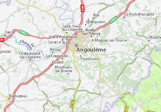 Mapa Plano Puymoyen