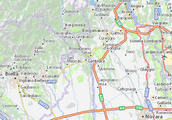 Mappe-Piantine Gattinara