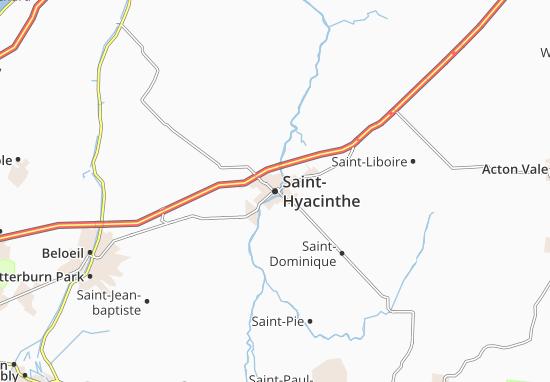 Saint-Hyacinthe Map