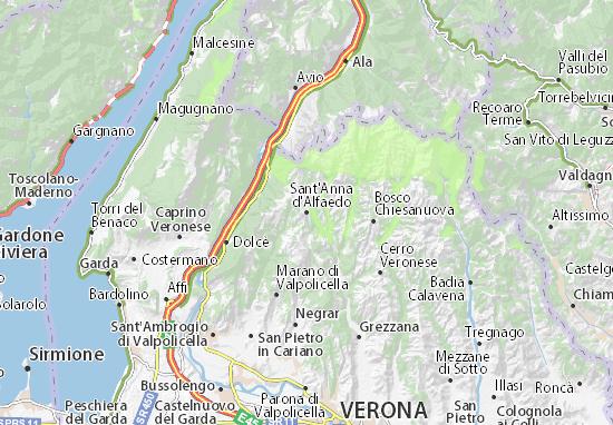 Sant'Anna d'Alfaedo Map
