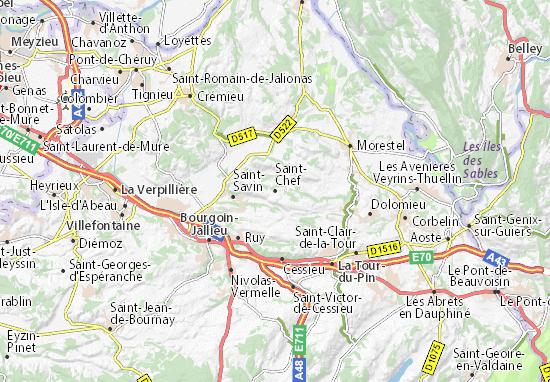 Mapa Plano Saint-Chef
