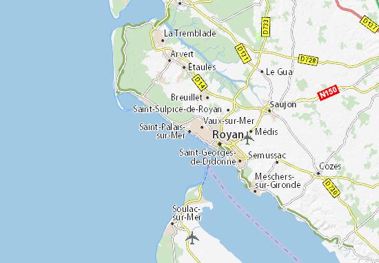 Saint-Palais-sur-Mer Map