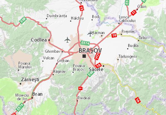 Braşov Map