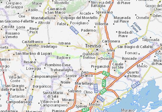 Carte-Plan Quinto di Treviso