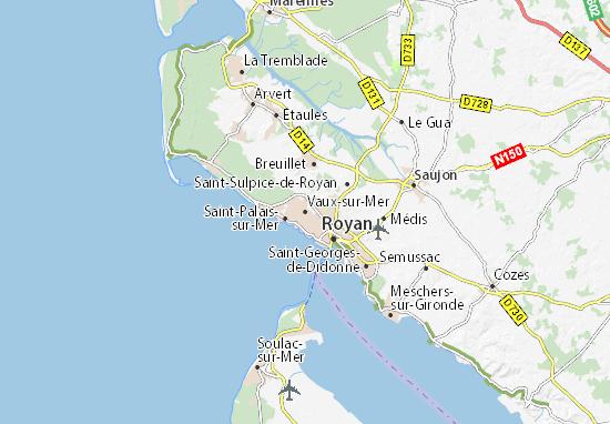 Mappe-Piantine Vaux-sur-Mer