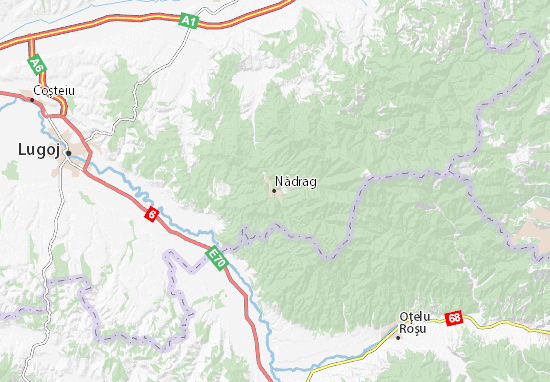 Nădrag Map