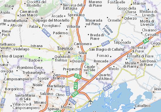 Silea Map