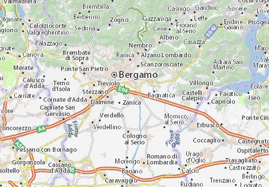 Grassobbio Map