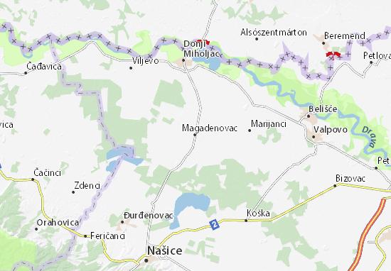 Mapas-Planos Magadenovac