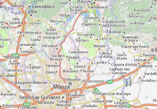 Cartina Stradale Toscana Dettagliata.Mappa Michelin Toscana Pinatina Di Toscana Viamichelin