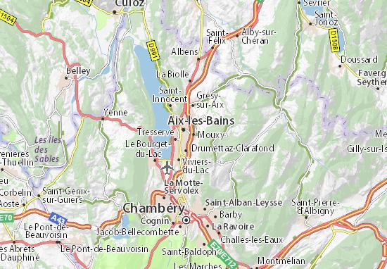 Mapa Plano Mouxy