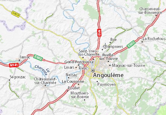 Mappe-Piantine Saint-Yrieix-sur-Charente