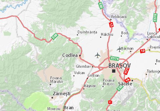 Mappe-Piantine Codlea