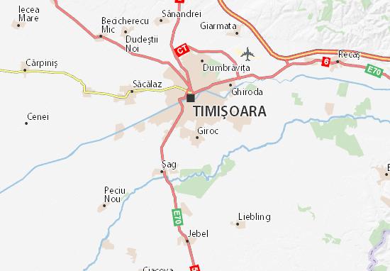 Giroc Map
