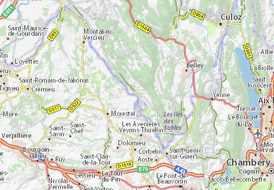 Le Port De Groslee Map Detailed Maps For The City Of Le Port De