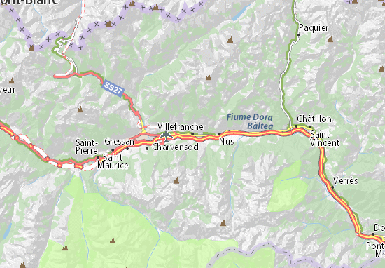 Mappe-Piantine Villefranche