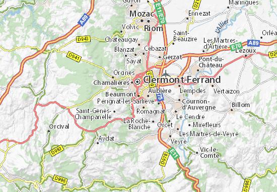 Carte-Plan Beaumont