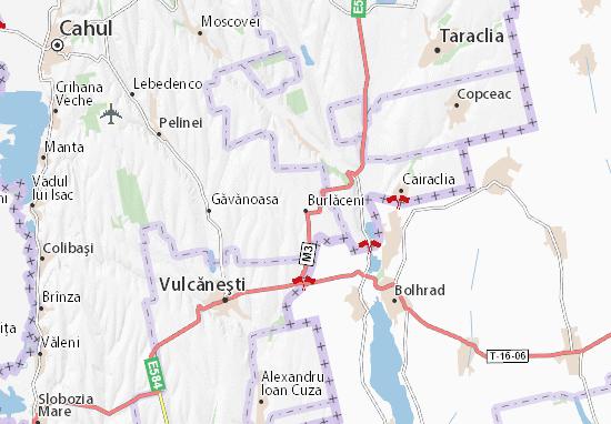 Burlăceni Map