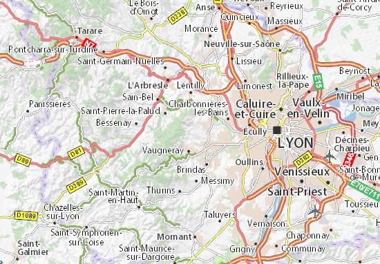 Carte-Plan Pollionnay