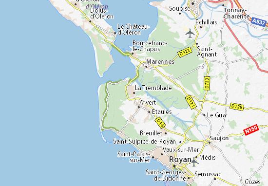 Mappe-Piantine La Tremblade
