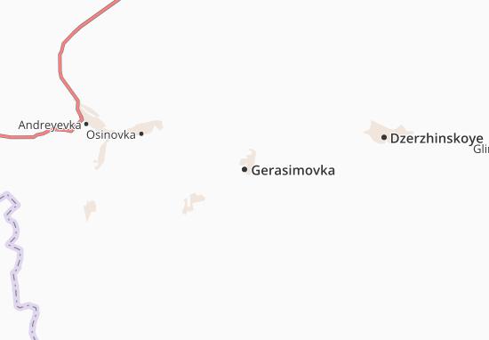 Carte-Plan Gerasimovka