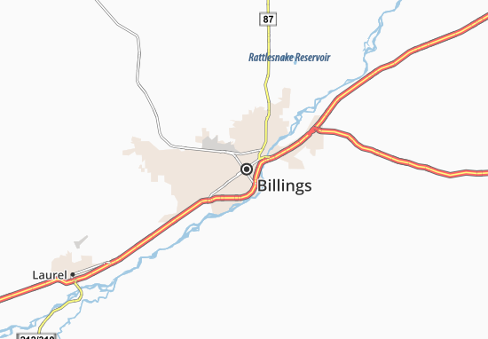 Billings Map